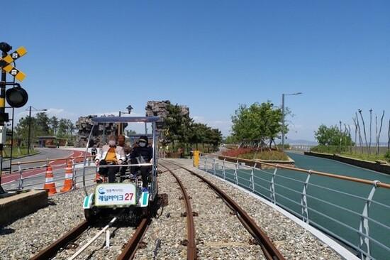 永宗島 Rail Bike體驗