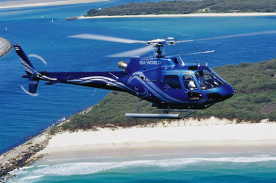 直升機翱翔之旅