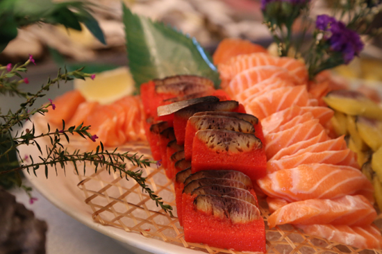環球海鮮自助午餐