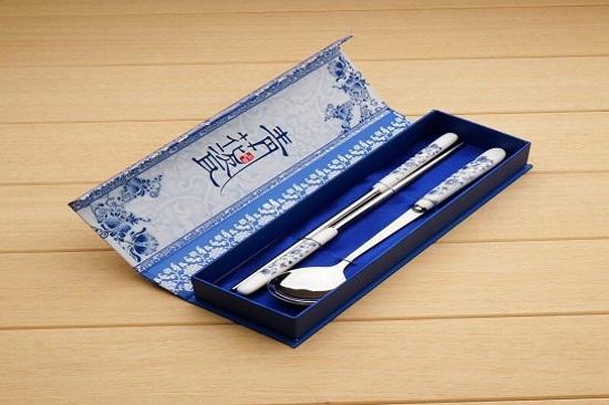 景德鎮青花瓷餐具