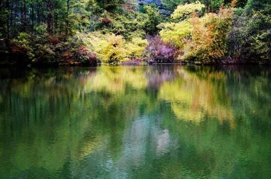 石門湖景區