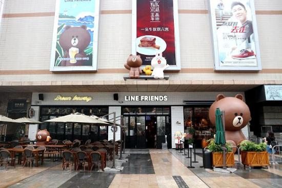 亞洲人氣LINE FRIENDS主題店