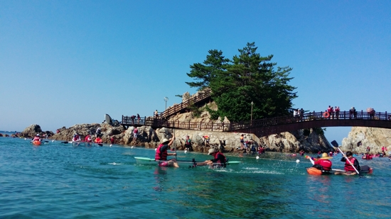 莊湖海濱~獨木舟體驗