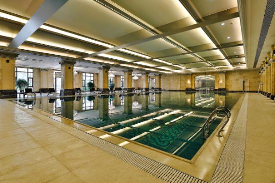 成都雅居樂豪生大酒店-游泳池
