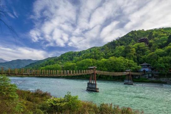 都江堰-安瀾索橋