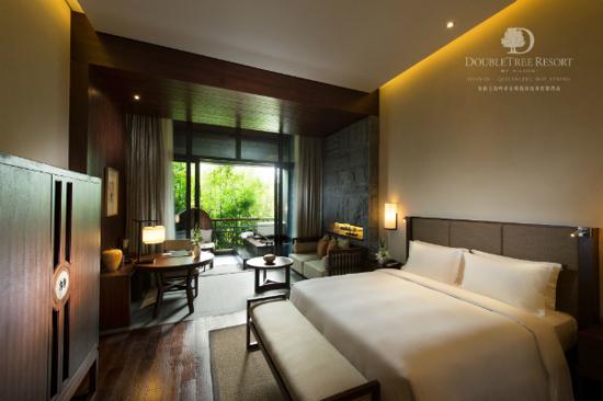 希爾頓逸林溫泉度假酒店-大床房