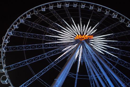 曼谷夜市Asiatique幸福摩天輪