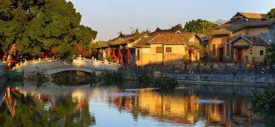 南社古村落