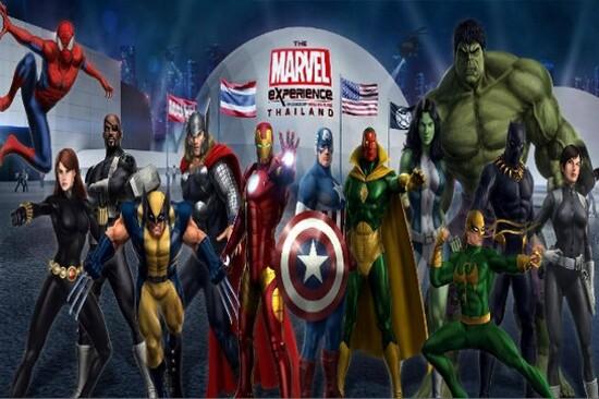 曼谷Marvel Experience體驗館