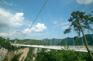 張家界大峽谷玻璃橋〜雲天渡