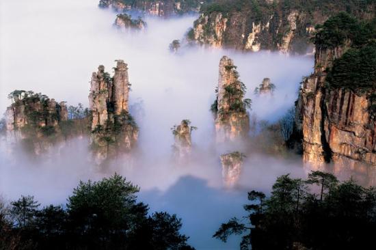 天子山景區 - 御筆峰