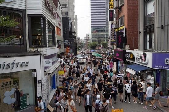 潮遊弘大購物區