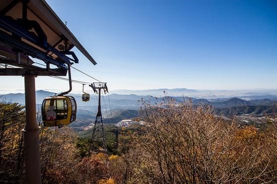 八公山道立公園~纜車體驗