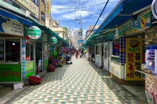 海雲台傳統市埸