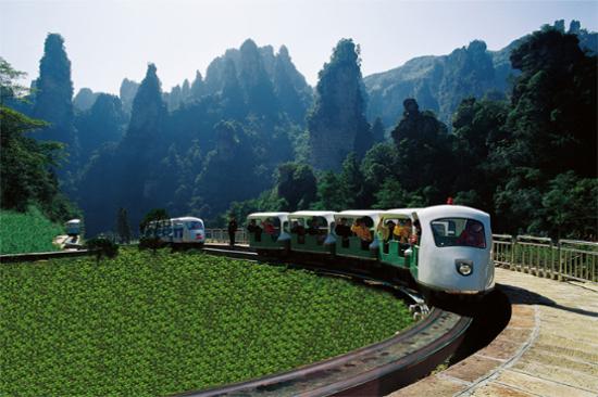 十里畫廊小火車