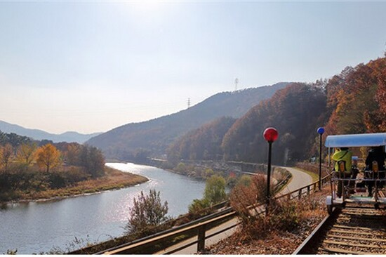 楊平Rail Bike體驗