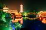 木龍湖夜景
