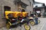 乘坐仿民國黃包車