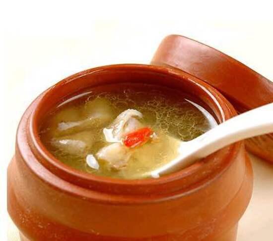花膠海參老雞湯