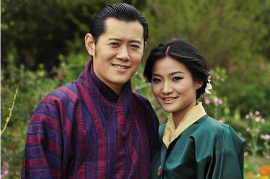 Bhutan King and Queen