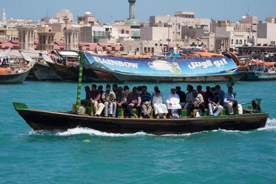 杜拜傳統水上的士ABRAS