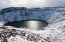 巨盆火山-火山湖