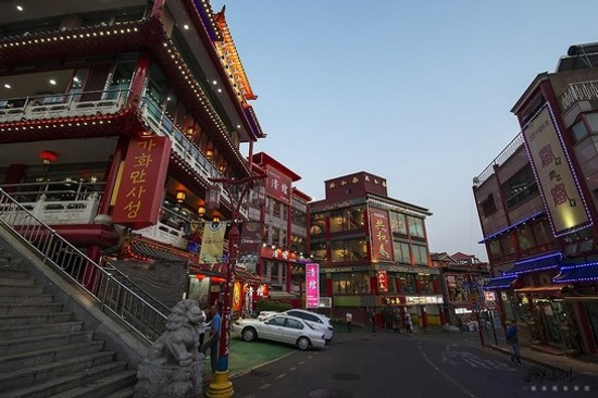「韓國唐人街」仁川中華街