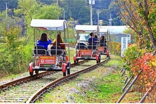 Uiwang Rail Bike體驗