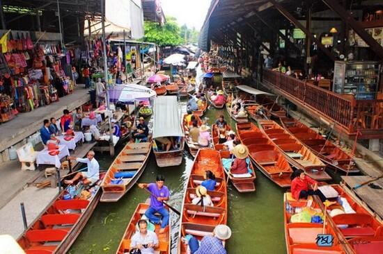 Amphawa 水上市場