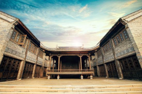 東方鹽湖城-古戲台