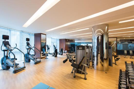 北京日出東方凱賓斯基酒店健身室