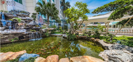 園林式增城賓館