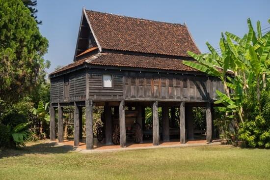 Old traditional Thai style house, Lampang_喃邦百年高腳屋