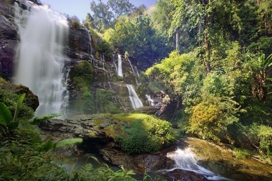Wachirathan Falls, Doi Inthanon National Park
