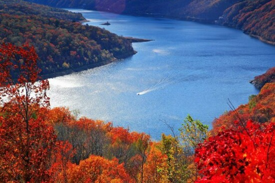 長白山風景區紅葉