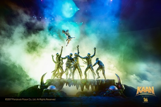 KAAN SHOW大型舞台表演