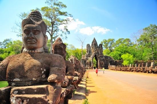 Cambodia Siem Reap Bayon 柬埔寨 暹粒 巴戎廟(高棉微笑)