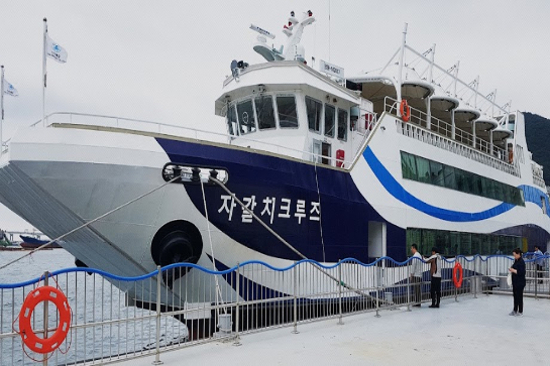 「札嘎其渡輪」觀光遊覽船