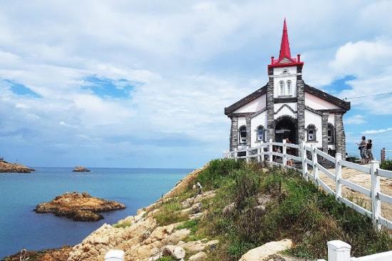 SBS韓劇拍攝地:竹城海邊聖堂