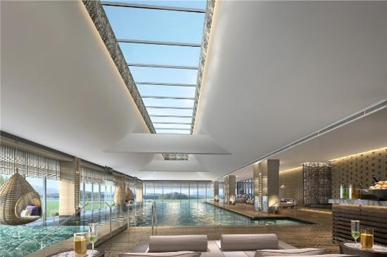 海南興隆希爾頓逸林濱海度假酒店-室內恆溫泳池