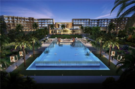海南興隆希爾頓逸林濱海度假酒店-泳池