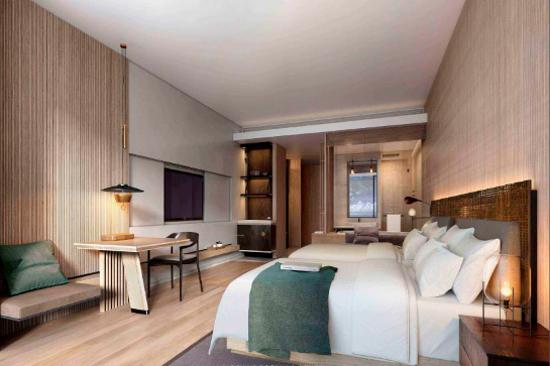 海南興隆希爾頓逸林濱海度假酒店客房