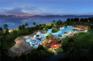 海南興隆希爾頓逸林濱海度假酒店-室外泳池與按摩池