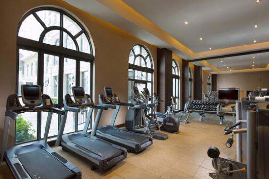 海口魯能希爾頓酒店-健身房