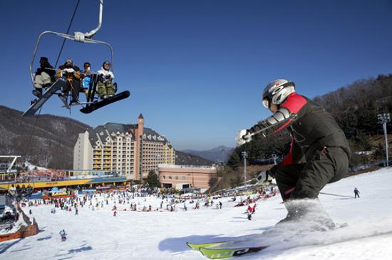 Yangji pine 陽智山滑雪場