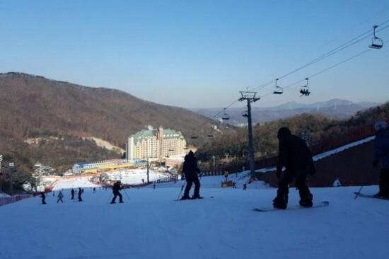 陽智山滑雪場
