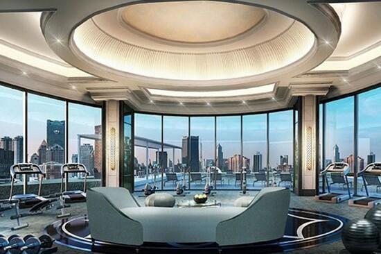 Grande Centre Point~ Sukhumvit 55 Hotel健身中心
