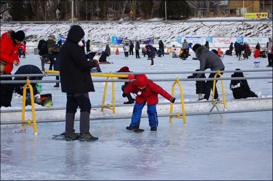 平昌冰釣祝祭體驗