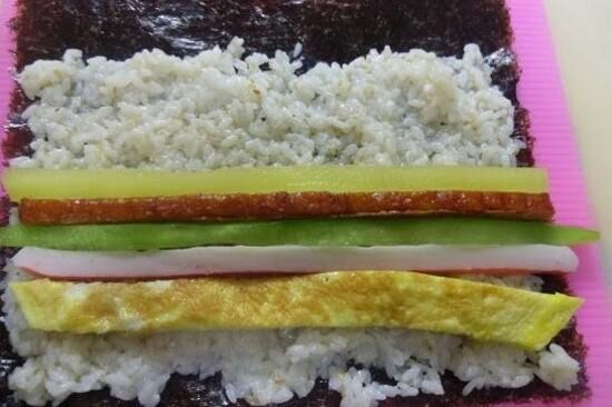 韓食DIY(紫菜飯卷)