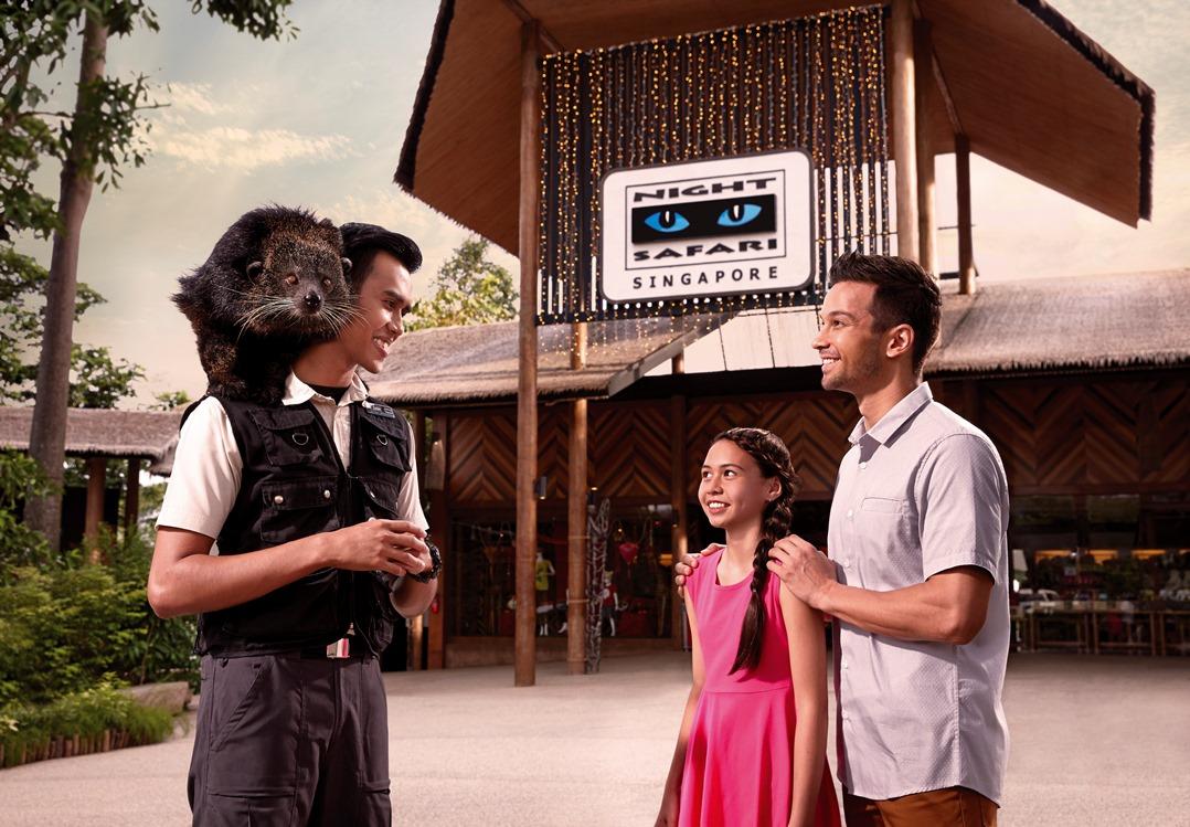 【夜間野生動物園(Night Safari)門票】與夜行動物共度美好的夜晚│新加坡自由行套票3-31天